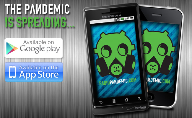 Download The Radio Pandemic App Today
