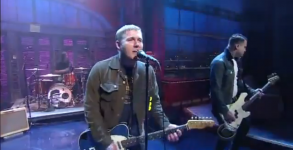 gaslight anthem on letterman