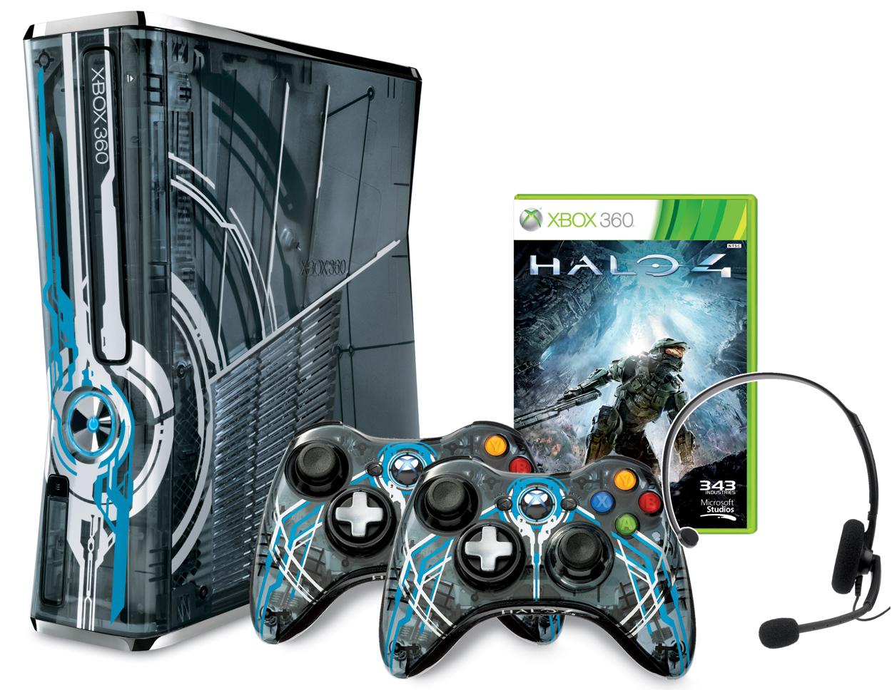 Limited Edition Halo 4 XBox 360 Bundle